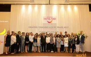 ททท. จัดกิจกรรม กิจกรรม Luxury Trade Meet & FAM trip  เจาะกลุ่มนักท่องเที่ยวกระเป๋าหนัก